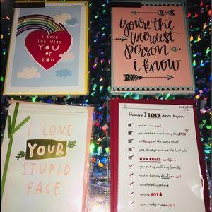#1 LOVE CARD SET